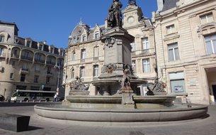 Statue Charles de Gonzague