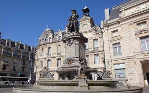 La statue de Gonzague