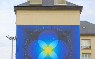 Fresque L'éternité, rue Louis Fraison