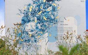 Fresque Tête de faune, 2020