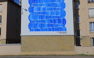 Fresque Sensation, rue Louis Fraison